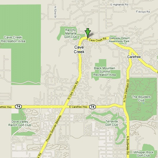 Click here to see full map of Cave Creek...