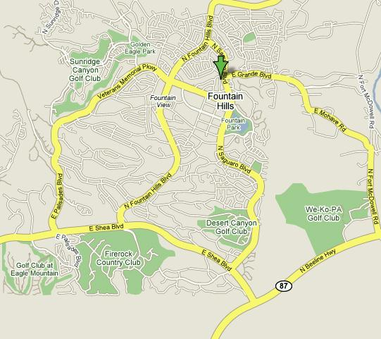 Click here to see full map of Fountain Hills...