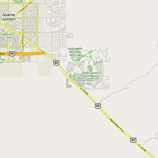 Click here to see full map of Gold Canyon...