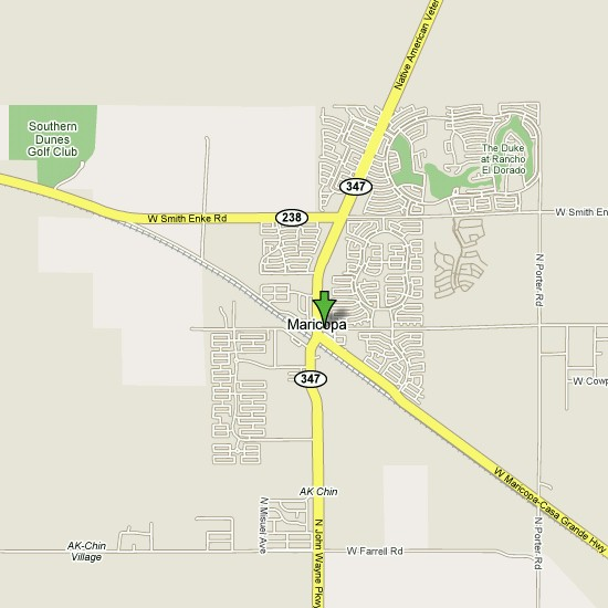 Click here to see full map of Maricopa...