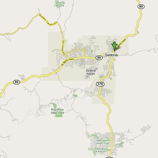 Map Of Arizona Phoenix To Sedona.Arizona Golf Phoenix Golf Courses Scottsdale Golf Courses Sedona